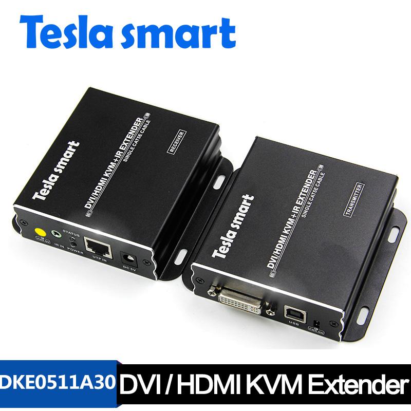50M DVI/HDMI KVM+IR Extender