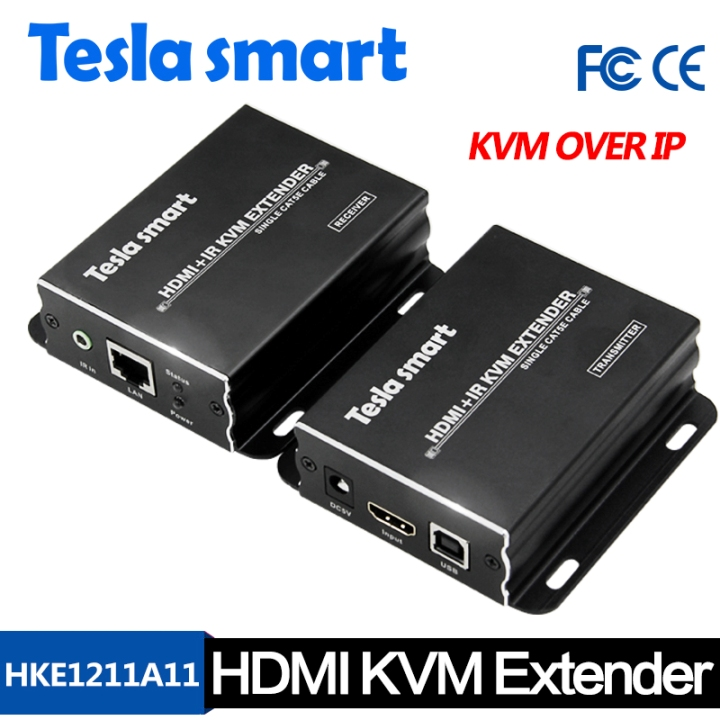 120M HDMI KVM Over IP Extender w/ IR
