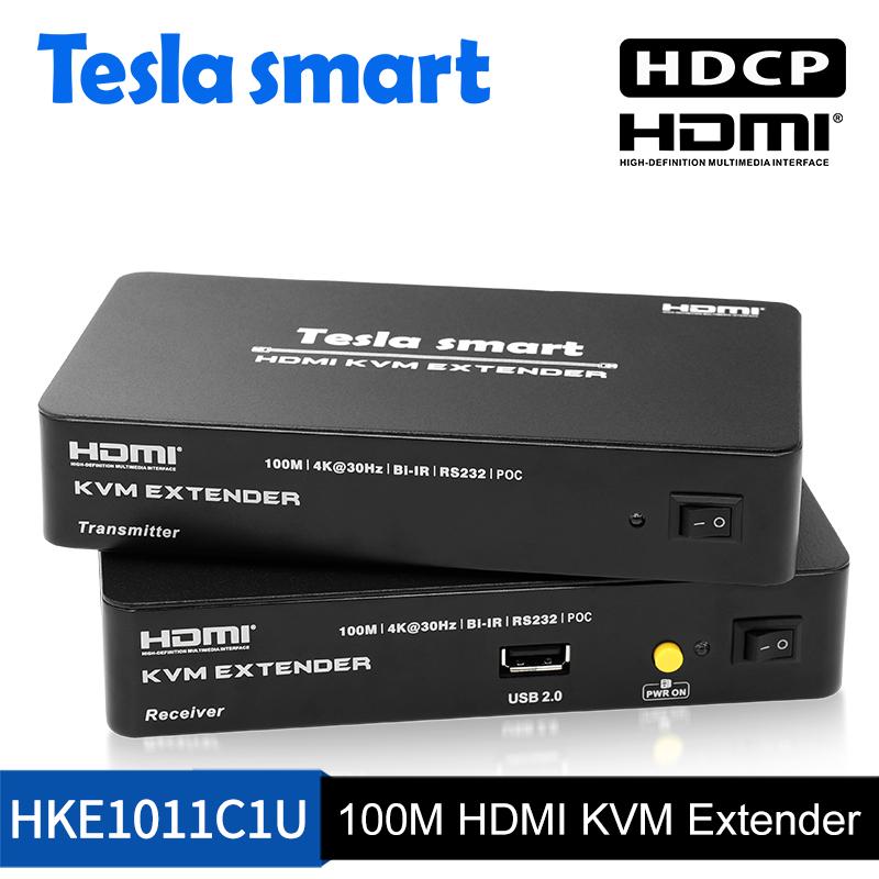 100M HDMI KVM Extender 4K@30Hz