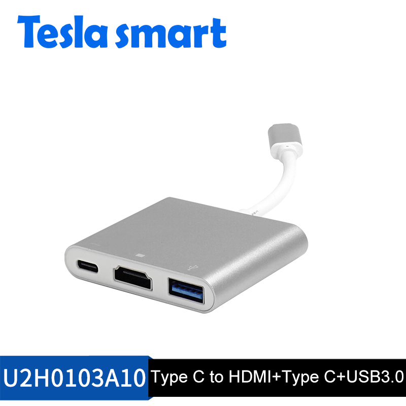 Type-C to HDMI and USB3.0 adapter