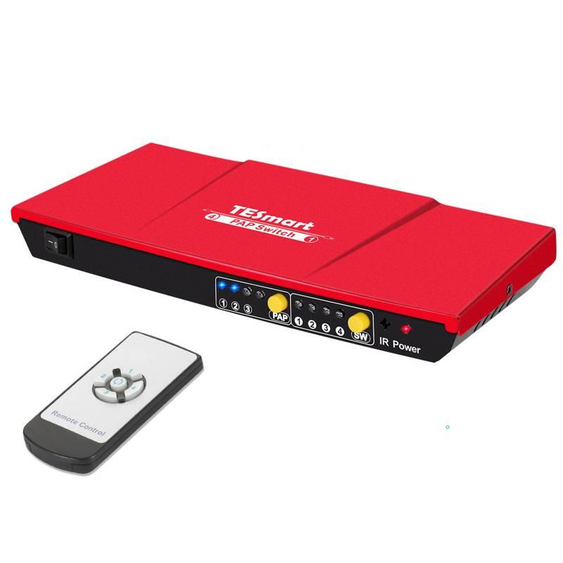 4x1 HDMI Switch w/ PAP