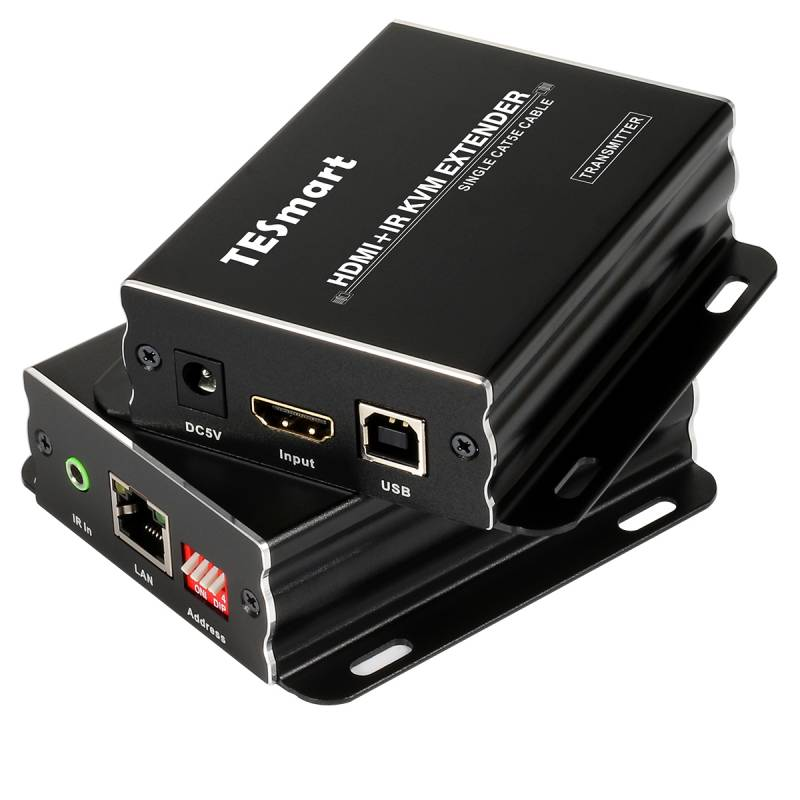 120M HDMI KVM Many to Many Over IP Extender w/ IR