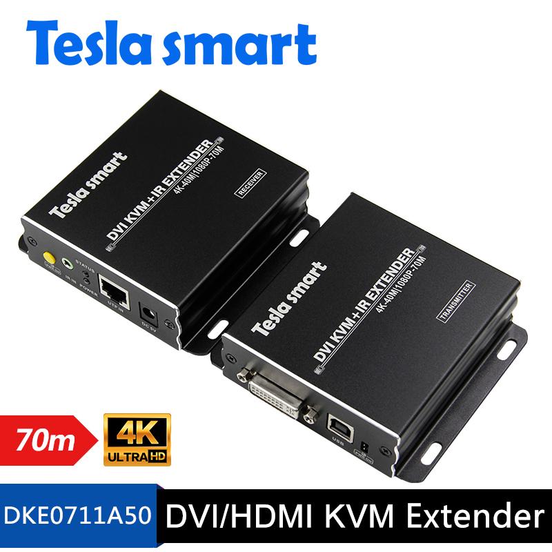70M DVI/HDMI KVM+IR Extender