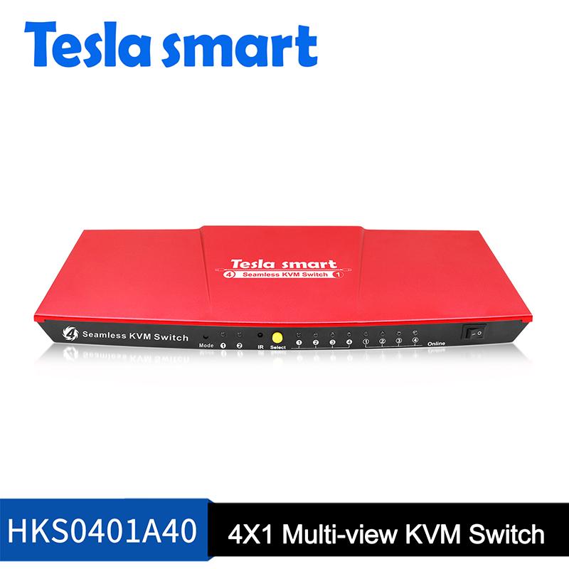 4x1 Multi-view Seamless KVM Switch