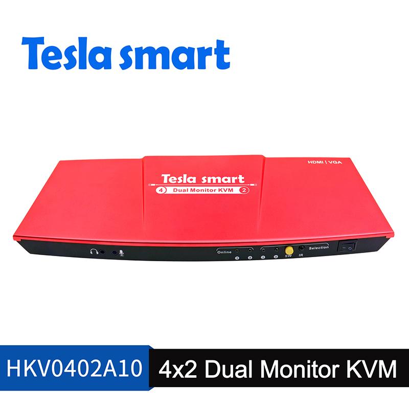 4x2 Dual Monitor KVM