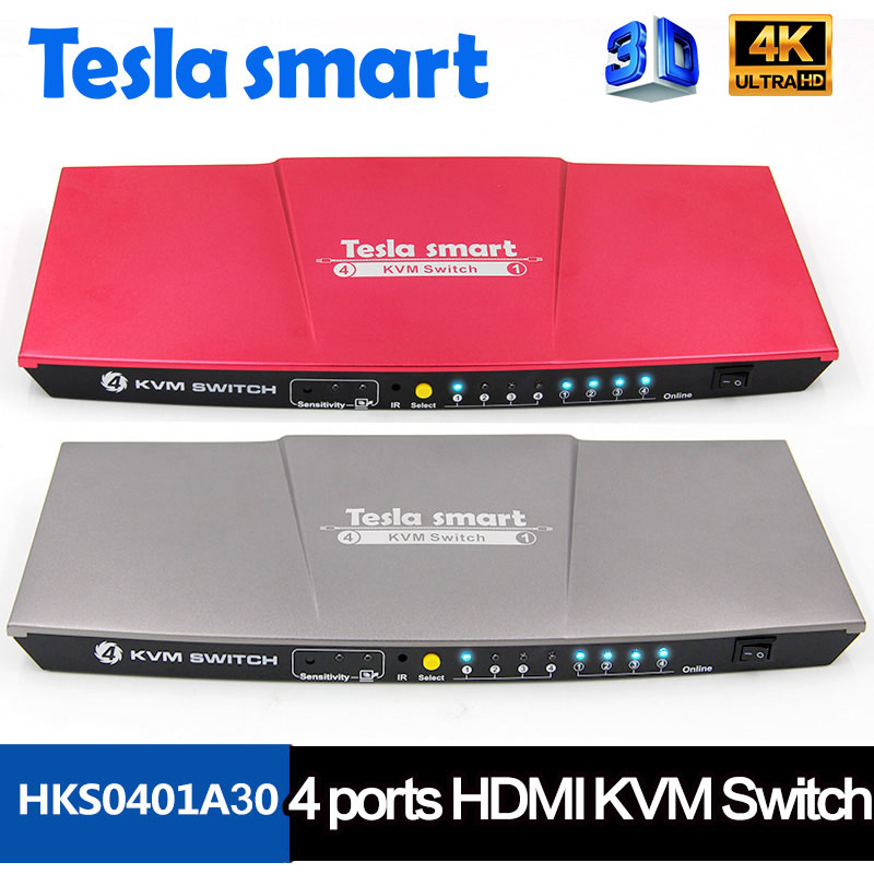 4x1 HDMI KVM Switch