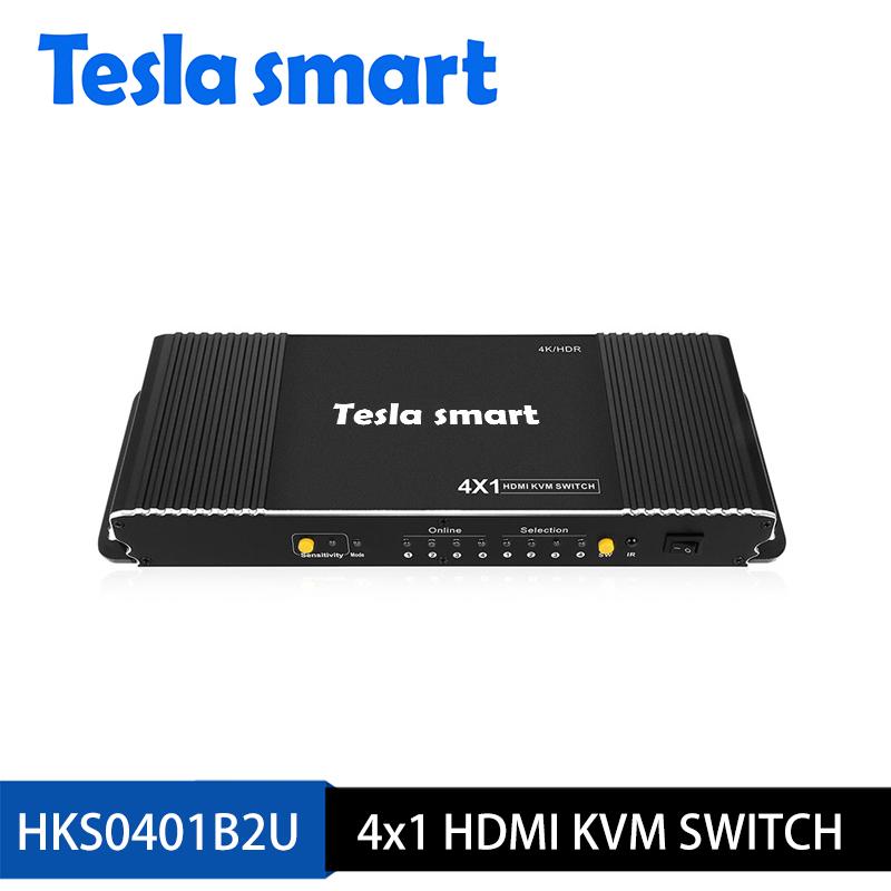 4x1 HDMI KVM Switch 4K@60Hz 4:4:4